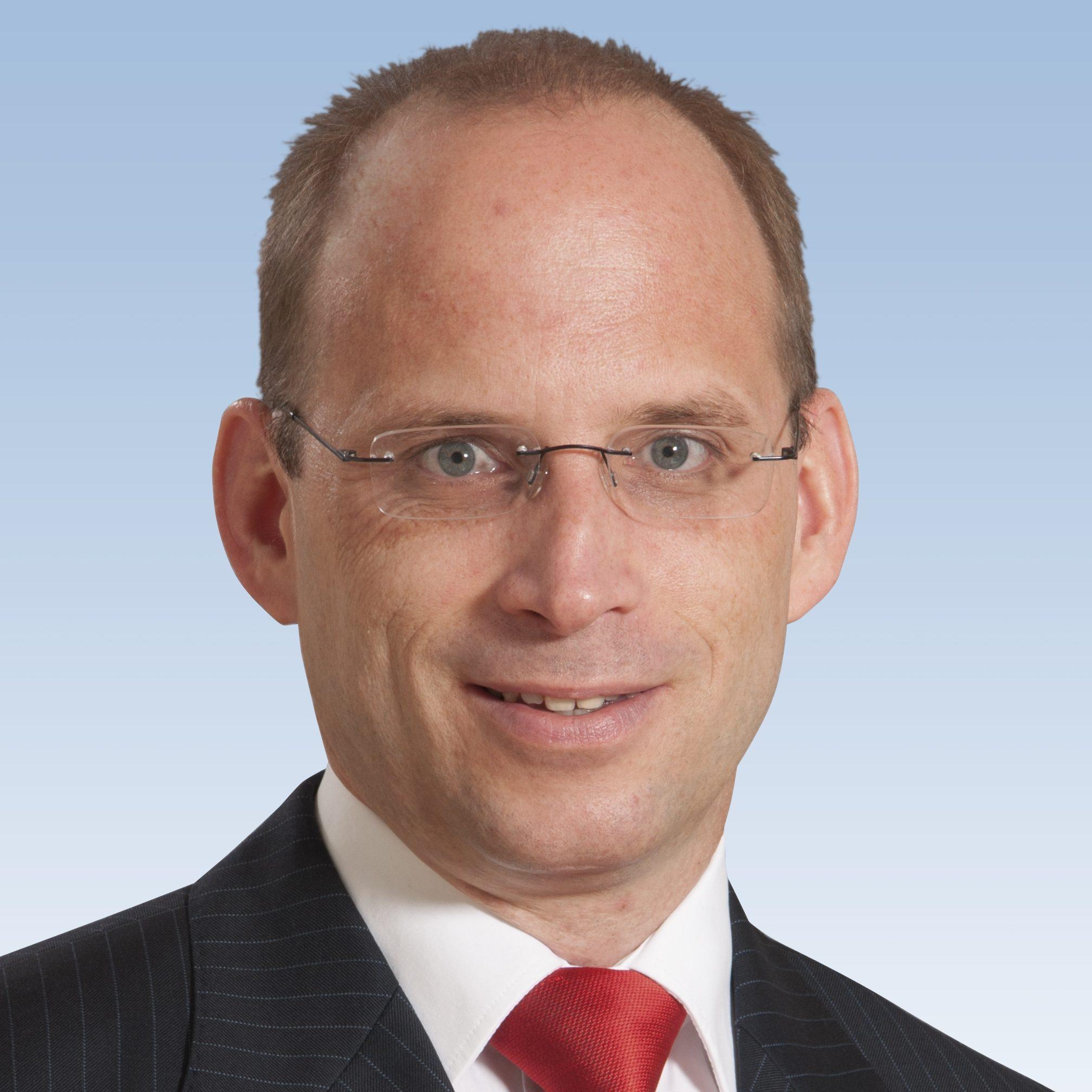 Tino Richter, Vorstandsvorsitzender der Wartburg-Sparkasse